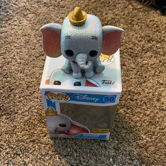 Pop Figure Dumbo Diamond Collection # 50 Hot Topic